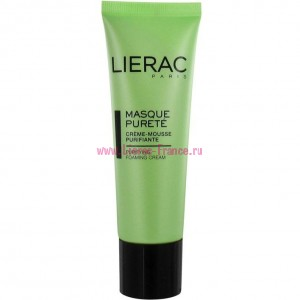 Лиерак Маска очищающая для лица 50 мл Lierac Masque Purete Purity Cream Mask-cleansing foam (9394)